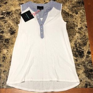NWT Cynthia Rowley Sleeveless top